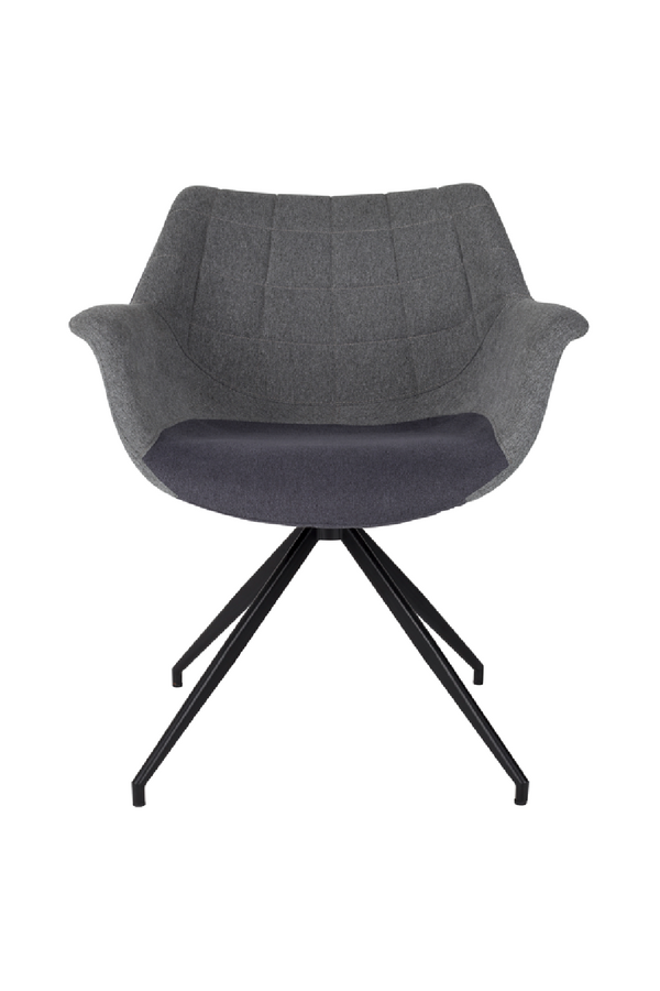Gray Upholstered Armchairs (2) | Zuiver Doulton | Dutchfurniture.com