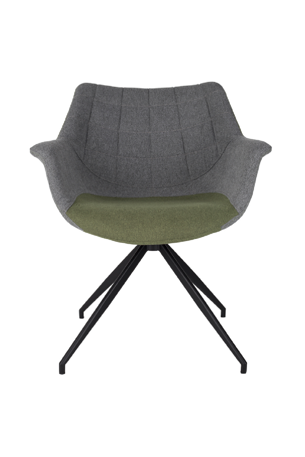 Green Upholstered Armchairs (2) | Zuiver Doulton | dutchfurniture.com