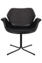 Black Butterfly Dining Chairs (2) | Zuiver Nikki Fab | dutchfurniture.com