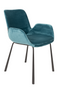 Teal Velvet Dining Chairs (2) | Zuiver Brit | Dutchfurniture.com