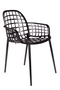 Black Molded Outdoor Armchairs (2) | Zuiver Albert Kuip | DutchFurniture.com