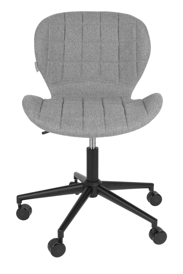 Gray Upholstered Office Chair | Zuiver OMG | Dutchfurniture.com
