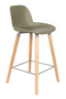 Green Molded Counter Stools (2) | Zuiver Albert Kuip | Dutchfurniture.com
