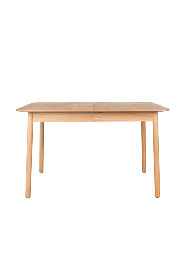 Extendable Natural Wood Dining Table (S) | Zuiver Glimps | DutchFurniture.com
