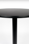 Black Pedestal Outdoor Table | Zuiver Metsu | DutchFurniture.com