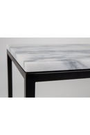 Square White Marble End Table | Zuiver Power | DutchFurniture.com