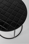 Round Black Tile End Table | Zuiver Glazed | DutchFurniture.com
