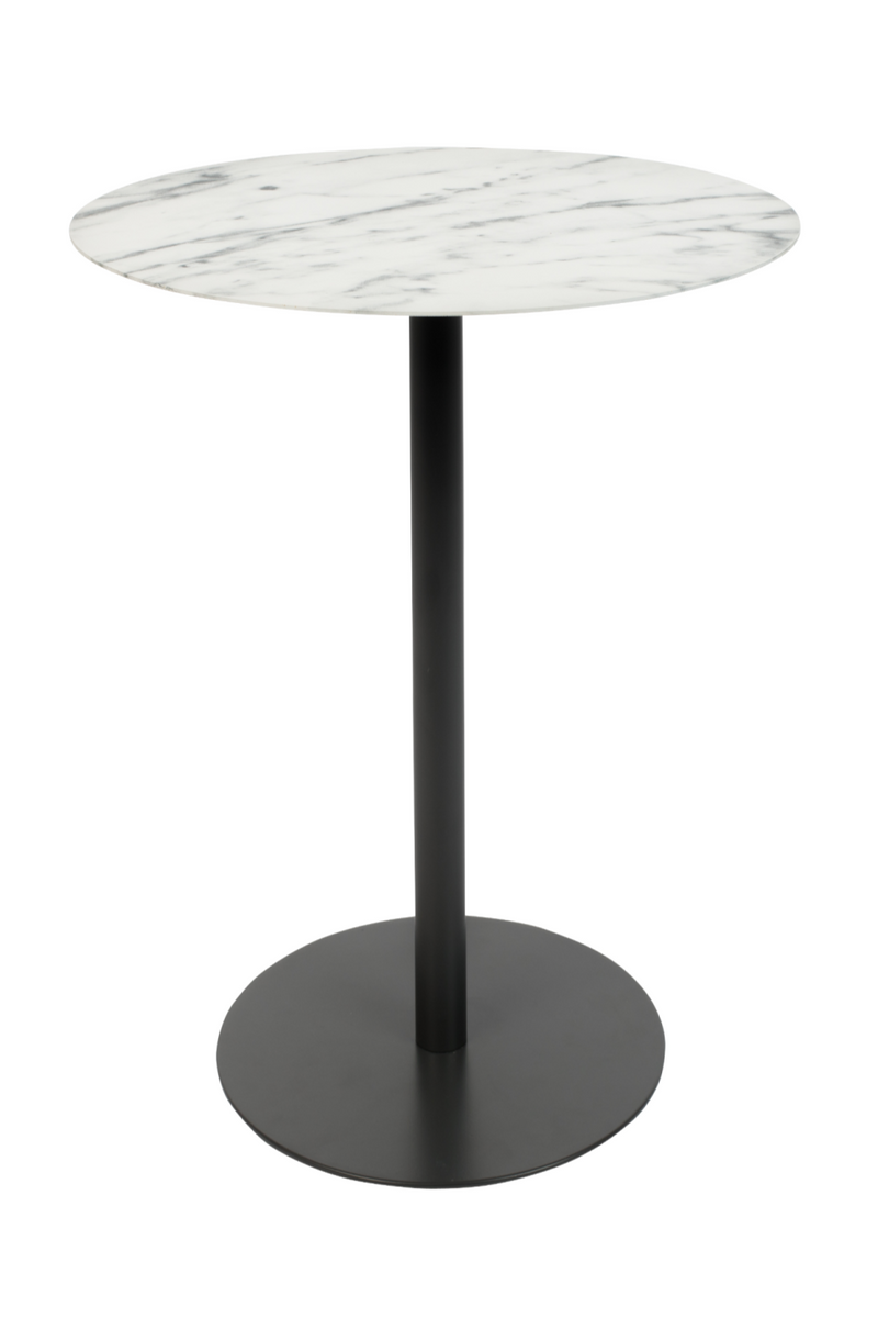 Oval White Marble End Table | Zuiver Snow | DutchFurniture.com