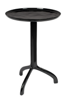 Black Gloss Tripod End Table | Zuiver Liz | dutchfurniture.com