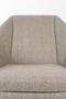 Gray Upholstered Lounge Chair | Zuiver Uncle Jesse | dutchfurniture.com