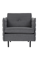 Gray Upholstered Accent Chair | Zuiver Jaey | DutchFurniture.com