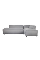 Light Gray Upholstered Right Sectional Sofa | Zuiver Fat Freddy | DutchFurniture.com