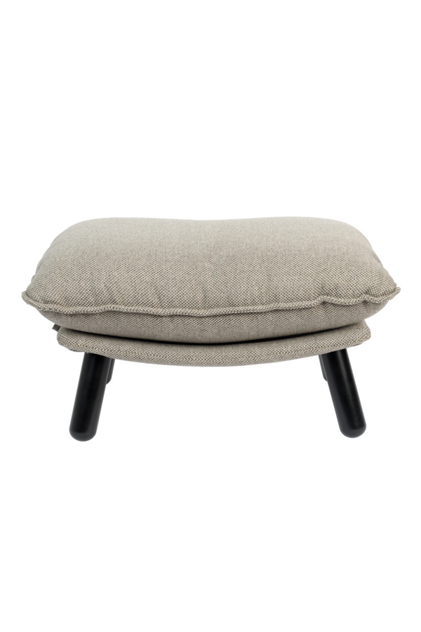 Light Gray Pillow Ottoman | Zuiver Lazy Sack | DutchFurniture.com