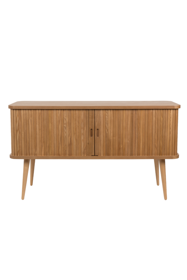 Tambour Sliding Doors Sideboard | Zuiver Barbier | DutchFurniture.com