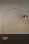 Copper Floor Lamp | Zuiver Bow | DutchFurniture.com