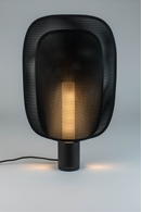Black Mesh Table Lamp M | Mai Zuiver | DutchFurniture.com