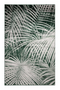 "Green Botanical Area Rug 6'5"" X 10' 