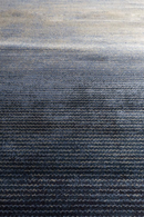 "Blue Ombre Area Rug 6'5"" X 10' 