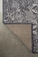 "Gray Distressed Pattern Rug 5'5"" X 8' 