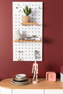 White Pegboard Organizer | Zuiver Bundy | dutchfurniture.com