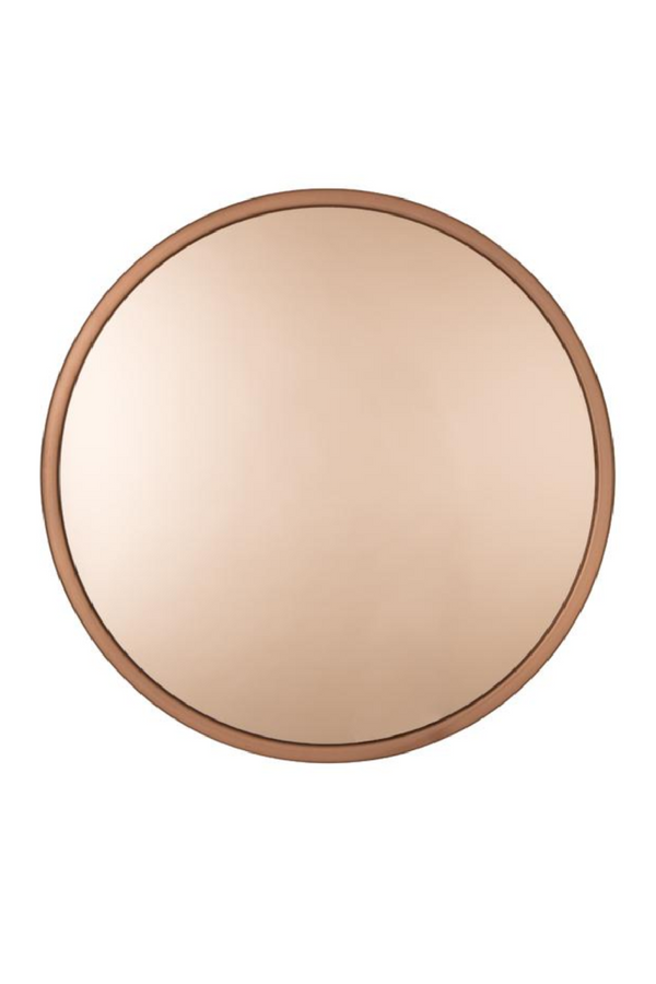 Round Copper Mirror | Zuiver Bandit | DutchFurniture.com