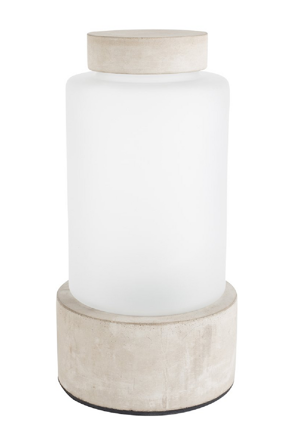 Frosted Glass Vase LED Lamp (M) | Zuiver Reina | dutchfurniture.com