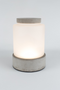 Frosted Glass Vase LED Lamp (L) | Zuiver Reina | dutchfurniture.com