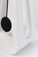 White Pendulum Clock | Zuiver Humongous | dutchfurniture.com