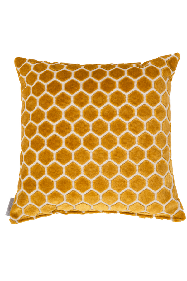 Amber Honeycomb Pillows (2) | Zuiver Monty | dutchfurniture.com