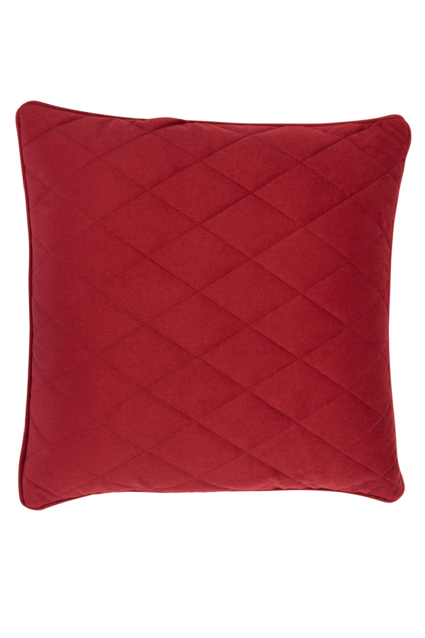 Red Square Pillows (2) | Zuiver Diamond | dutchfurniture.com