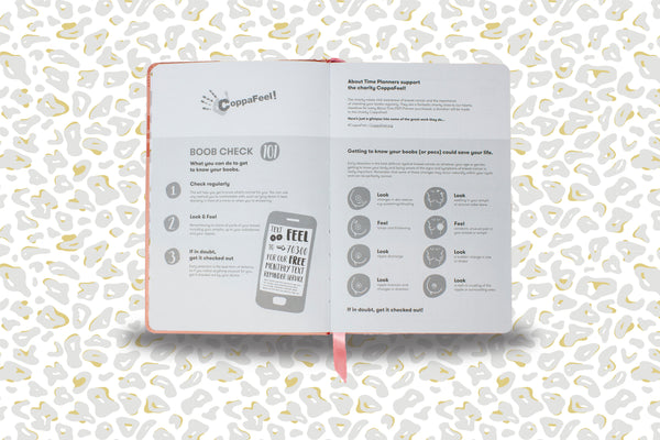 Check your boobs reminder in About Time Planner