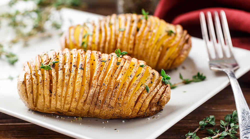 Hasselback Red Potatoes Recipe