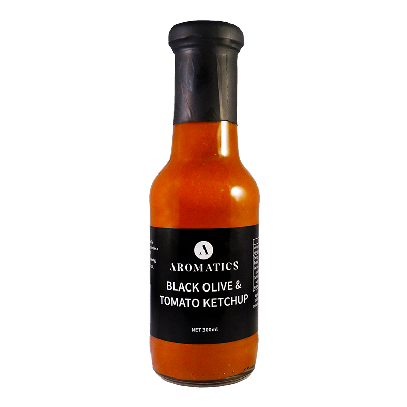 Aromatics Black Olive and Tomato Ketchup 300ml