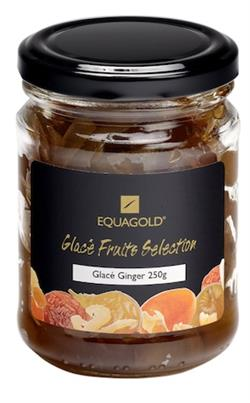 Equagold Glace Ginger Jar 250g