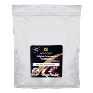 Load image into Gallery viewer, Equagold Belgian Couverture 70% Dark Chocolate 5kg