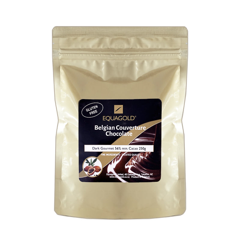 Equagold Belgian Couverture 56% Dark Chocolate 250g