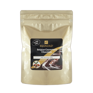 Equagold Belgian Couverture Milk Chocolate 250g