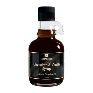 Equagold Chocolate and Vanilla Syrup 250ml