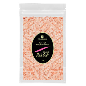 Load image into Gallery viewer, Equagold Himalayan Pink Salt Coarse 1kg