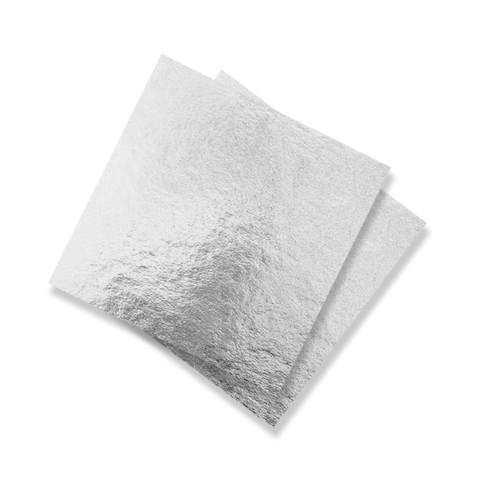 Equagold Edible Silver Leaf 25pc
