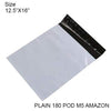 936 Tamper Proof Courier Bags(12.5X16 PLAIN 180 POD M5 AMAZON) - 100 pcs