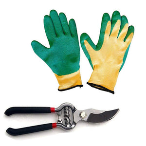Mitra.Today Gardening Tools - Falcon Gloves and Pruners