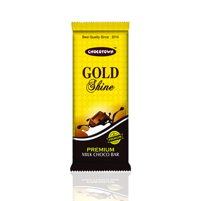 1001 Chocotown Gold Shine Milk Chocobar, 15gm
