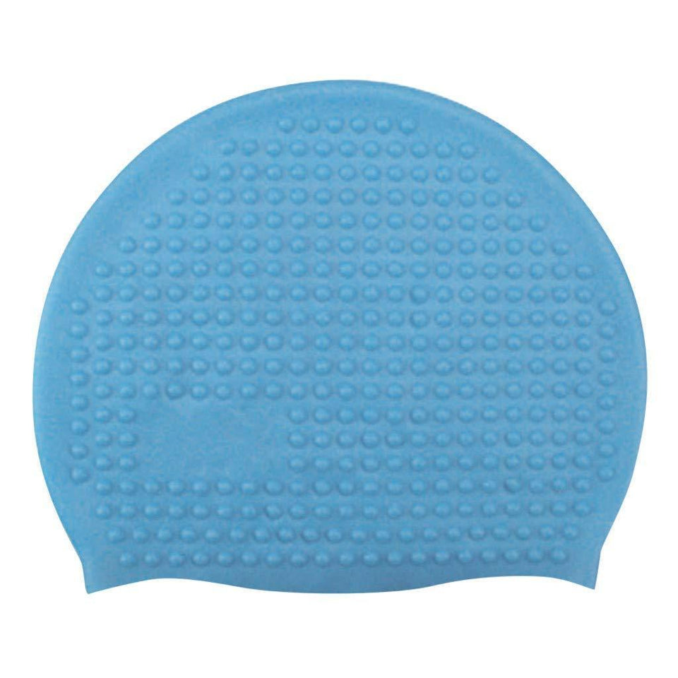 552 Sports Swim Caps for Girls Women Bubble Cap Silicone Swimming Cap for Men Boys