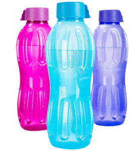 0320 Unbreakable Plastic Water Bottle - 1 L - DeoDap