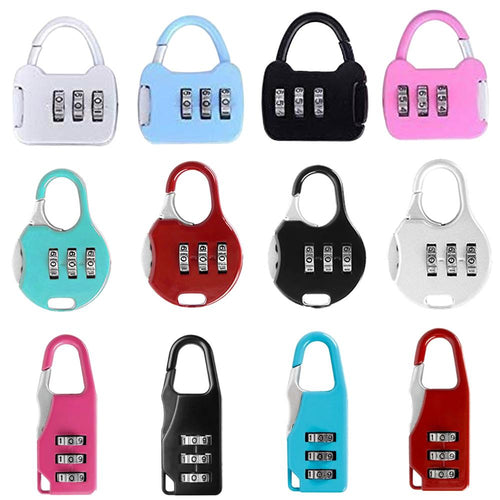 1212 Resettable Code Combination Number Padlock