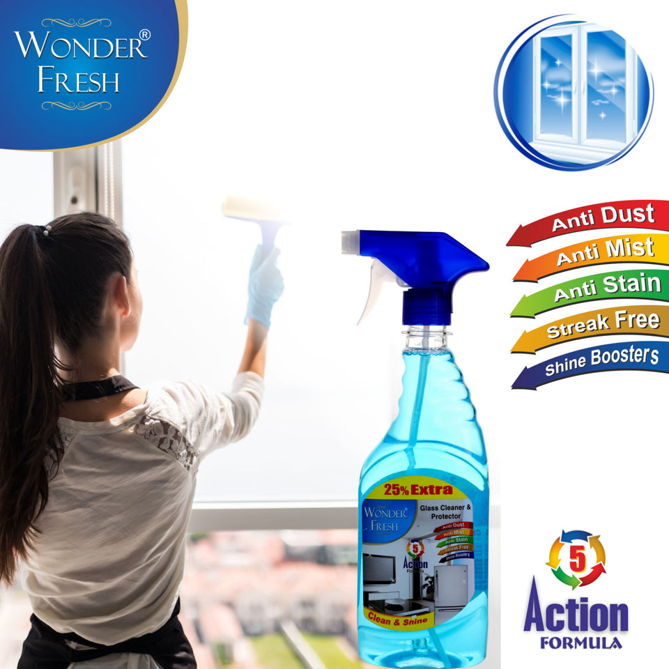 1329 Glass Cleaner and Protector Spray (500  ml) - DeoDap
