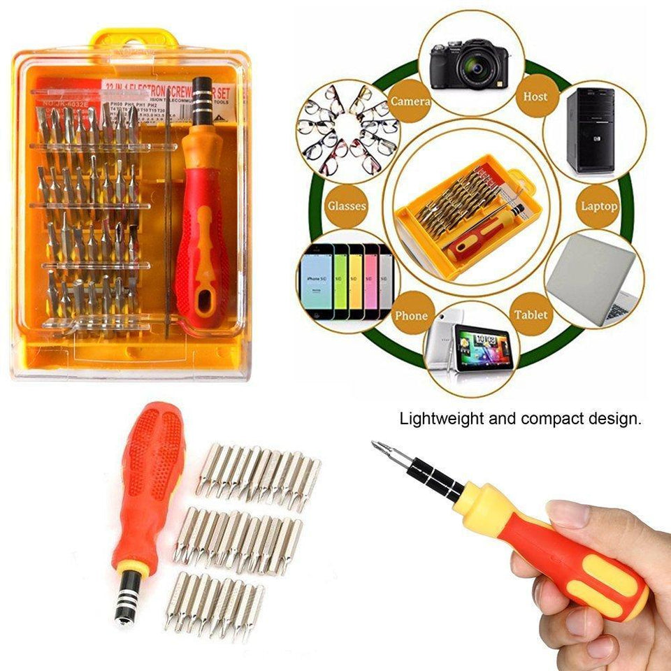 430 Screwdriver Set  32 in 1 with Magnetic Holder