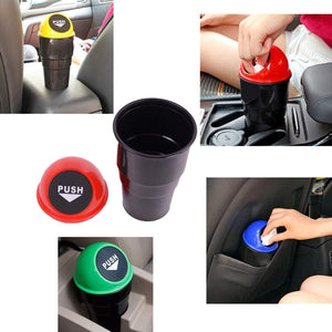 537 Car Dustbin/Mini Car Trash Bin/Car Ashtray