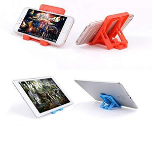 0610 Adjustable 4 Steps Foldable Mobile Stand Holder (1 pc) - DeoDap